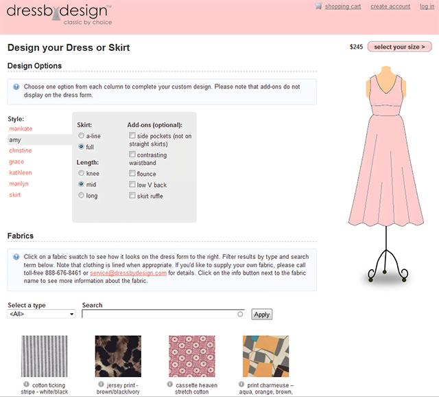 kleider designtool dressbydesign nun auch offline individuelle mode. Black Bedroom Furniture Sets. Home Design Ideas
