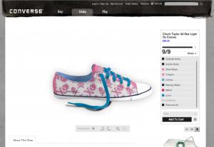 Online Schuh-Designer von Converse