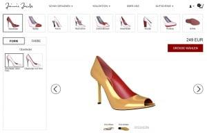 High Heels bei Jamie Jacobs selber designen