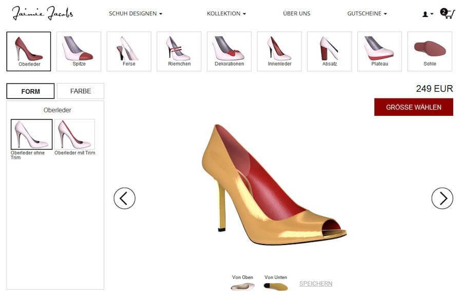 high heels selbst designen