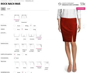 Sumissura Kleider Design Tool