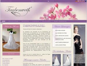 Taubenweiss Brautkleider