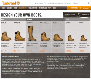 Timberland Stiefel selbst designen