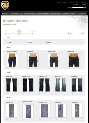 Jeans selbst designen bei Z2Jeans Co