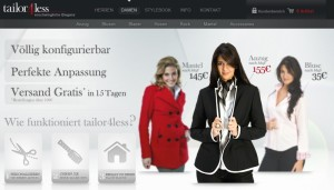 Blusen, Mäntel und Anzüge für Damen bei Tailor4Less