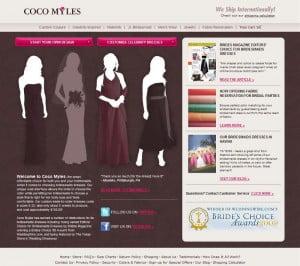Coco Myles Webseite