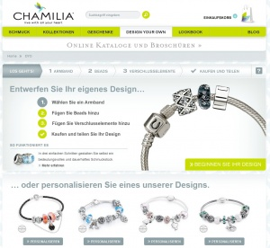 Beads und Charms Armbänder selber designen