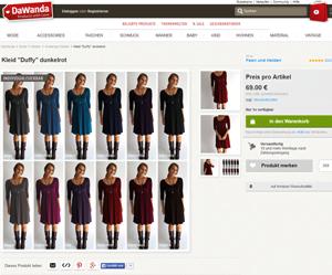 Kleid Selbst Designen nach Maß