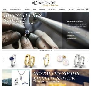 Schmuck Selbst Designen mit Diamanten
