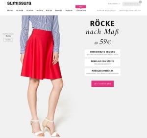 Sumissura: Röcke Selbst Designen