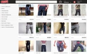 Einzigartige Jeans